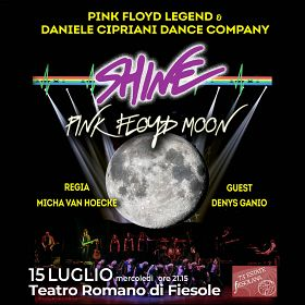SHINE Pink Floyd Legend - Pink Floyd Moon nuova data 23/07/21